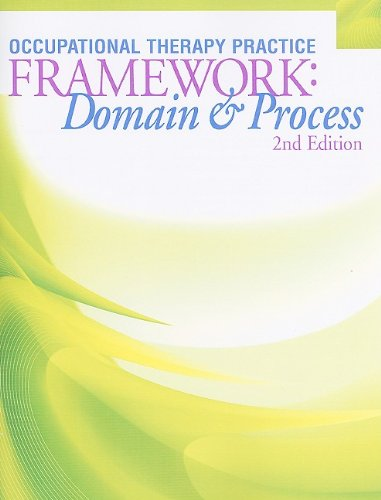 Occupuational Therapy Practice Framework: Domain & Process [With CDROM] 9781569002650