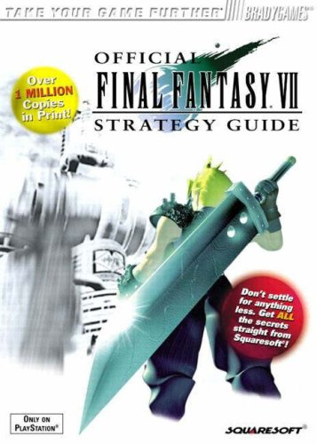 Official Final Fantasy VII Strategy Guide 9781566867146