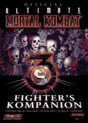 Official Ultimate Mortal Kombat 3 Fighter's Kompanion by Ronald