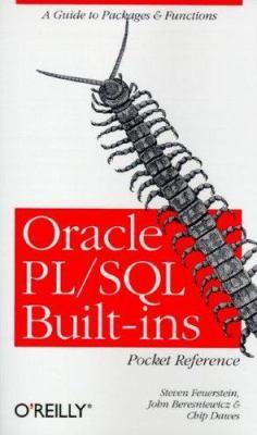 Oracle PL/SQL Built-Ins Pocket Reference 9781565924567