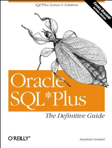 Oracle SQL Plus: The Definitive Guide 9781565925786