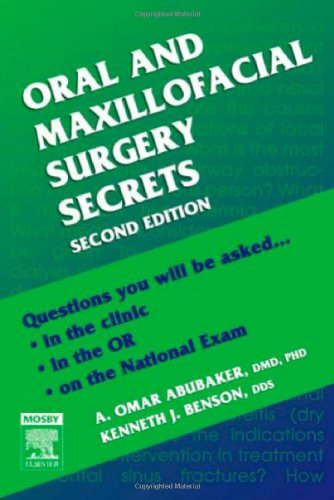 Oral and Maxillofacial Surgery Secrets 9781560536154