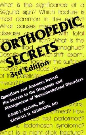 Orthopedic Secrets 9781560535416