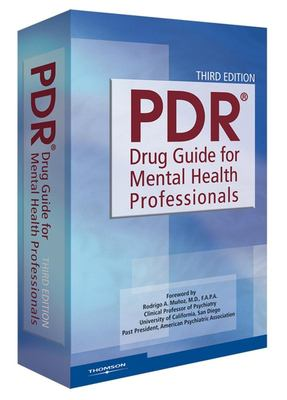 PDR Drug Guide for Mental Health Professionals 9781563636790