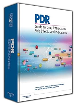 PDR Guide to Drug Interactions, Side Effects, and Indications 9781563637117