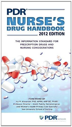 PDR Nurse's Drug Handbook 9781563637902