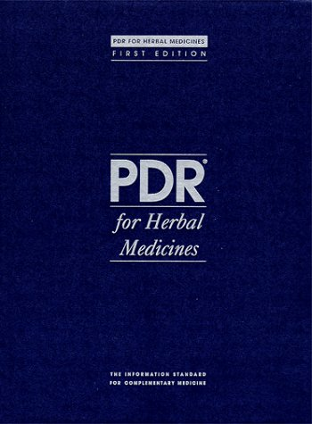 PDR for Herbal Medicines 9781563632921
