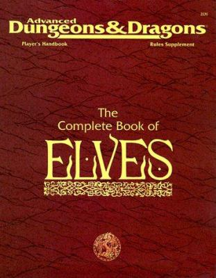 Phbr8, the Complete Book of Elves: Accessory, Adandd 9781560763765