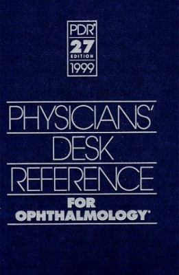 Physician's Desk Reference for Ophthalmology 9781563632907
