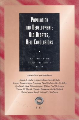 Population and Development: Old Debates, New Conclusions 9781560001652