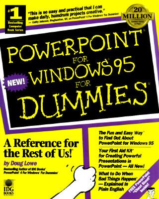 PowerPoint for Windows 95 for Dummies 9781568849317