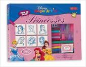 Princesses Drawing Book & Kit