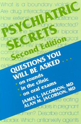 Psychiatric Secrets 9781560534181