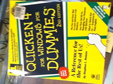 Quicken 4 for Windows for Dummies 9781568842097
