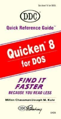 Quicken 8 for DOS 9781562432508