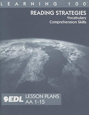 Reading Strategies Lesson Plans, AA 1-15: Vocabulary, Comprehension Skills 9781562607258