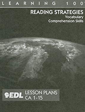 Reading Strategies Lesson Plans, CA 1-15: Vocabulary, Comprehension Skills 9781562607296