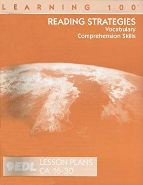 Reading Strategies Lesson Plans, CA 16-30: Vocabulary, Comprehension Skills 9781562607302