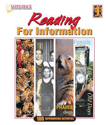 Reading for Information 1 9781562542221