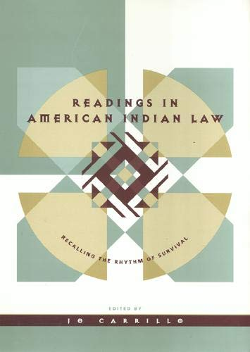 Readings in American Indian Law 9781566395823