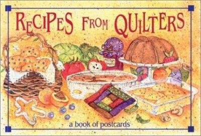 Recipes from Quilters - Bk of Postc 9781561481668