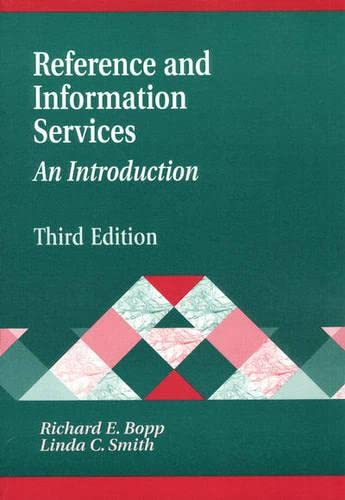 Reference and Information Services: An Introduction 9781563086243