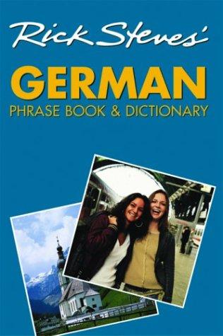 Rick Steves' German Phrase Book & Dictionary 9781566915199