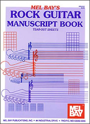 Rock Guitar Manuscript Book 9781562221485