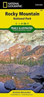 Rocky Mountain National Park: Colorado, USA Outdoor Recreation Map