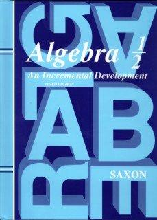 Saxon Algebra 1/2: Student Edition Grade 8 2004 9781565771499