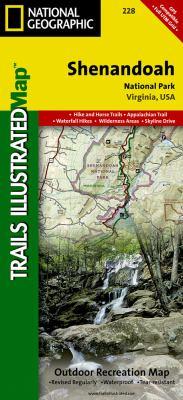 Shenandoah National Park, Virginia: Outdoor Recreation Map