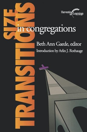 Size Transitions in Congregations 9781566992466