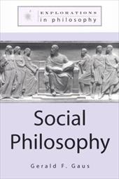 Social Philosophy - Gaus, Gerald F.