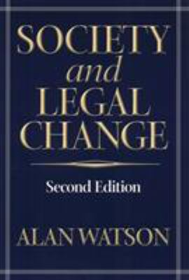 Society and Legal Change 9781566399203