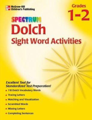Spectrum Dolch Sight Word Activities, Volume 2 9781561899180
