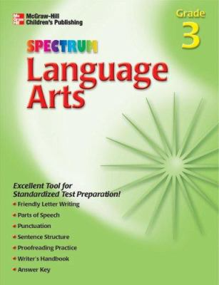 Spectrum Language Arts, Grade 3 9781561899531