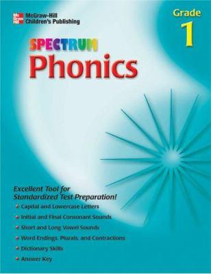 Spectrum Phonics, Grade 1 9781561899418