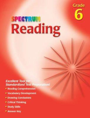 Spectrum Reading, Grade 6 9781561899166