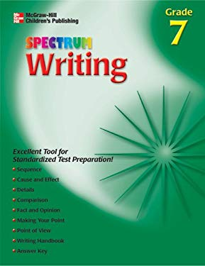 Spectrum Writing, Grade 2 (McGraw-Hill Learning Materials Spectrum) School Specialty Publishing