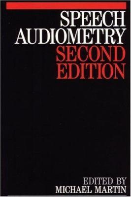 Speech Audiometry 9781565935167