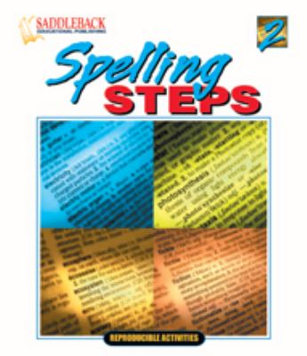 Spelling Steps 2 9781562541453