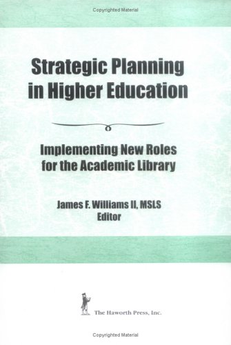 Strategic Planning in Higher Education 9781560240914