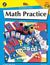 Math Practice, Grades 7 - 8