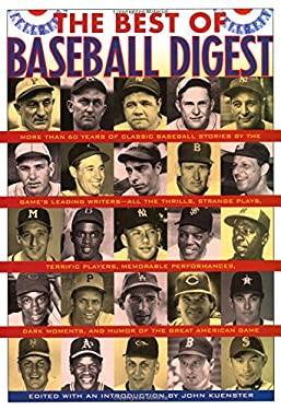 The Best of Baseball Digest 9781566636551