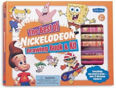 The Best of Nickelodeon Drawing Book & Kit 9781560108825