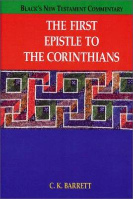 The First Epistle to the Corinthians 9781565630208