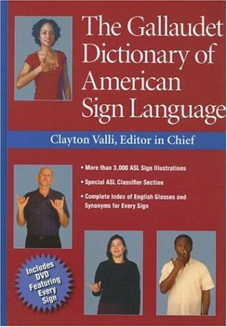 The Gallaudet Dictionary of American Sign Language [With DVD] 9781563682827