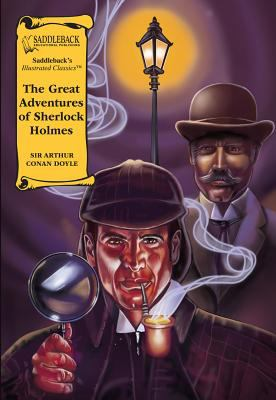 The Great Adventures of Sherlock Holmes [With Books] 9781562549015
