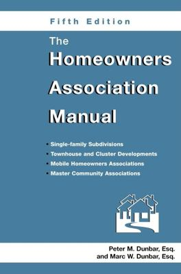 The Homeowners Association Manual 9781561644230