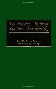 The Japanese Style of Business Accounting 9781567202199